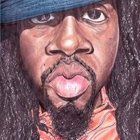 Wyclef Jean Caricature