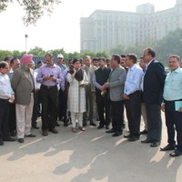 Visit by Ms. Deepa Dasmunshi, Union Minister of State for Urban Development, Government of India on November 9, 2013