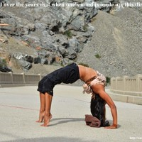 (Chakrasana) Wheel pose