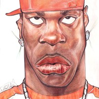 BUSTA Rhymes Caricature