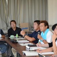 若手生産者の会議や交流会にも積極的に参加!