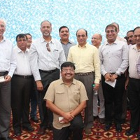 Senior dignitaries at the commissioning of Waste Treatment Facility at New Moti Bagh on October 19, 2014