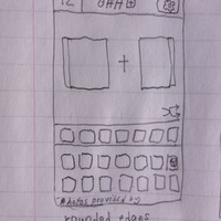Main Puzzle Screen (sketches)
