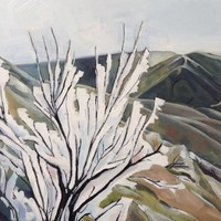 Hoar Frost and Foothills SOLD