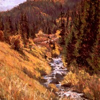Big Cottonwood Canyon in September - sold