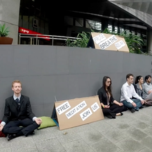 Street Meditation Flashmob