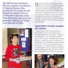 l'Orient le Jour Junior (January 2014)