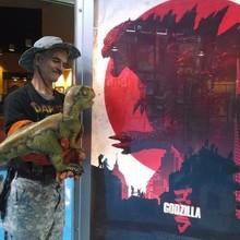 Baby T Meets Godzilla