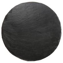 Round Slate Plate