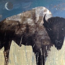QuarterMoon Bison /SOLD