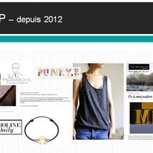 eRP, Events et partenariats blog pour des marques telles que Dihn Van, Lacoste, Agatha, Boticca, Bobbi LA...