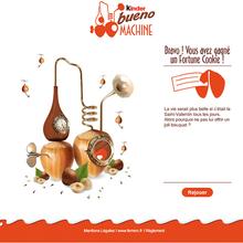 Kinder Bueno Machine   Ferrero   Fresh Media