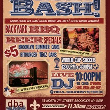 D.B.A. Independence Day Bash 7/4/14