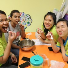 Healthy Ice Cream Making!!