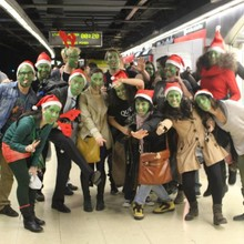 Elf Christmas Flashmob