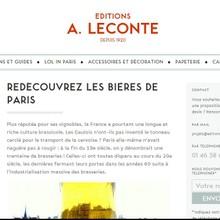 Editions A. Leconte | Freelance | Client - Résidence Mixte