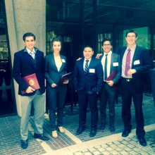 At the Harvard National Consulting Competition