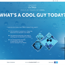 Cool Guy Survey - Davidoff Cool Water  | Fresh Media