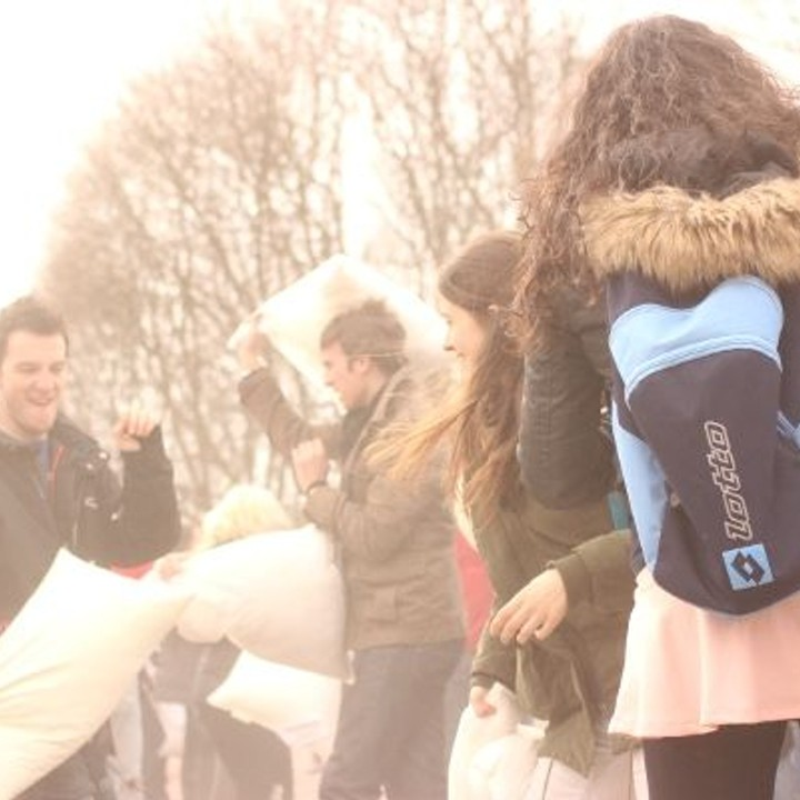 Pillow fight Oslo