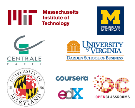 MIT, Centrale Paris, University of Maryland