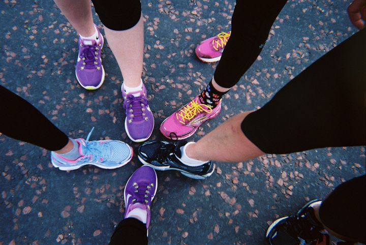 Therapeutic running group