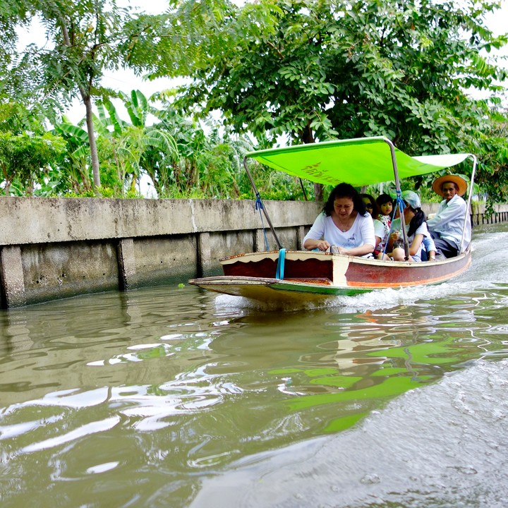 Countryside Canal Tour Thailand