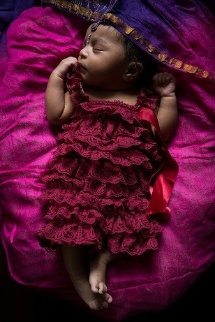 Image of beautiful Indian baby