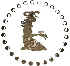 Image of Ixchel, Mayan Goddess of Fertility