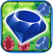 Diamond Dazzle - Combine Crystal Symbols and Collapse Gems in this High Tempo Problem Solving Puzzle