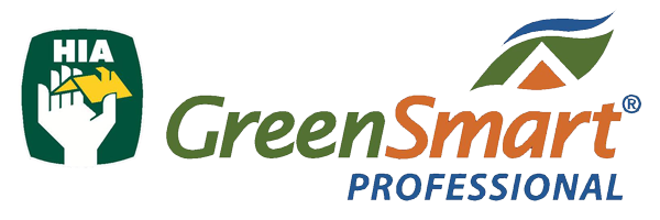 Plot Design : Housing Industry Association Greensmart Professional Logo