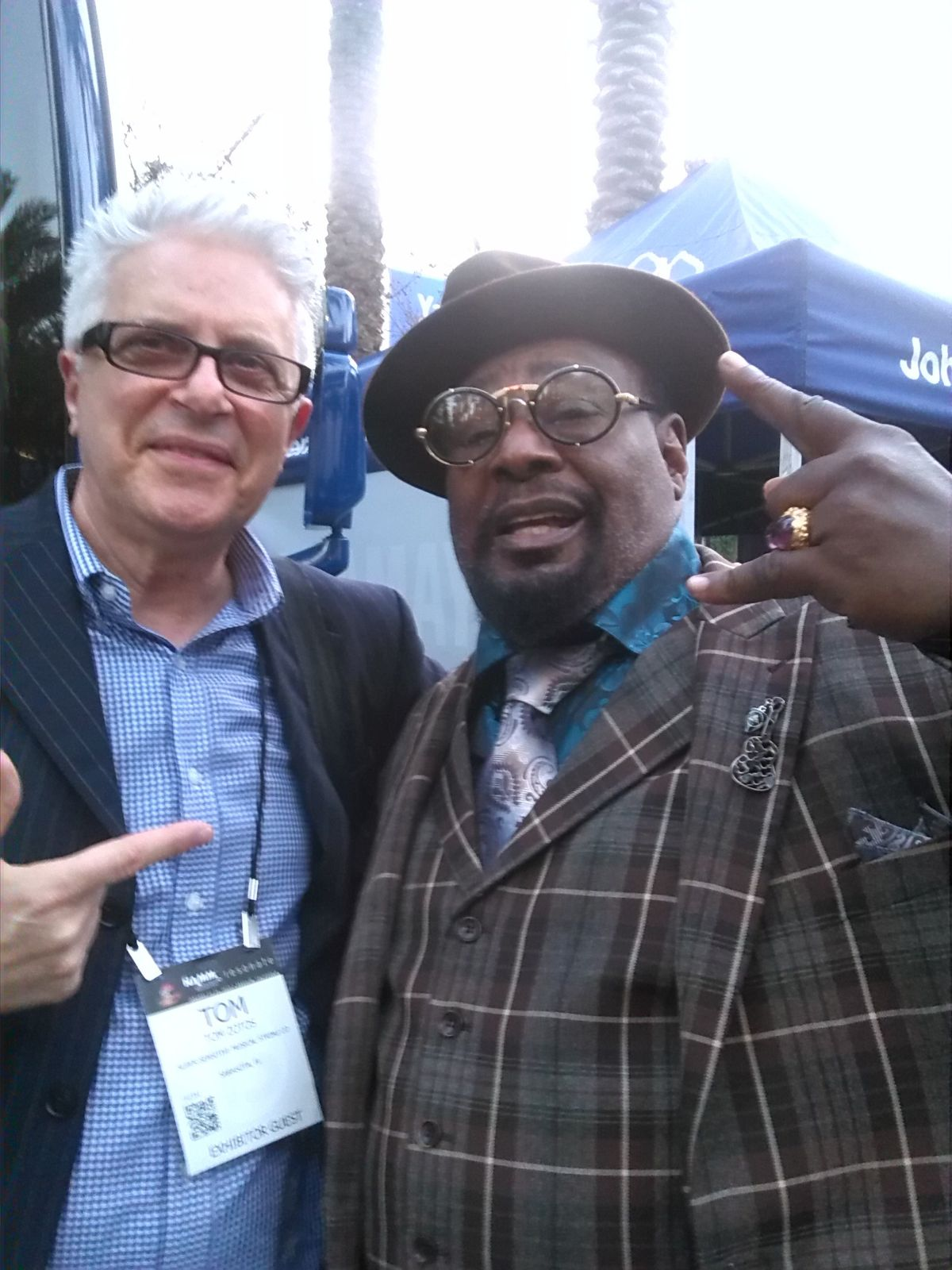 Tommy Z with George Clinton