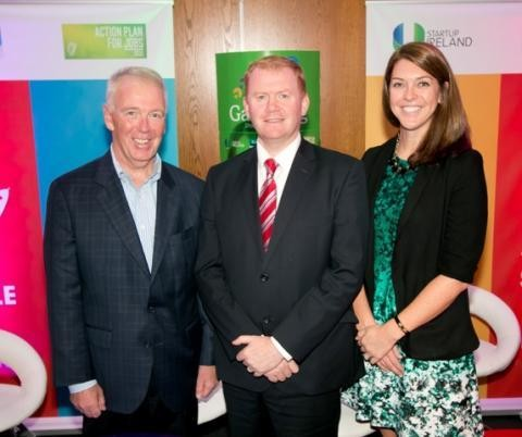 Kevin Murphy, Co-Founder & Partner CGM LLC Paudie Coffey, TD, Minister of State at the Department of the Environment Beth O'Neill, Director of Product Development