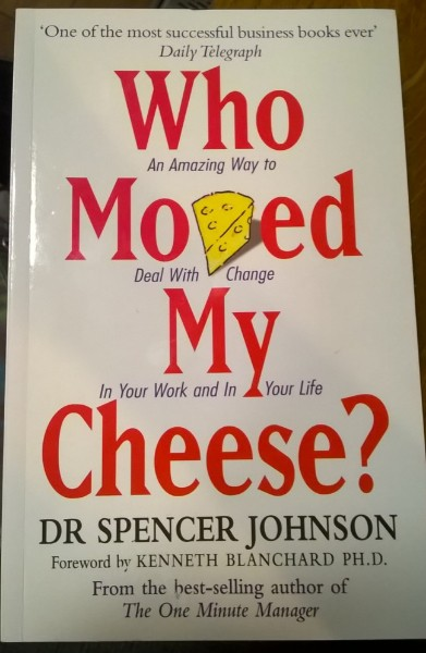 Who moved my cheese, spencer johnson, kenneth blanchard, business book, dealing with change