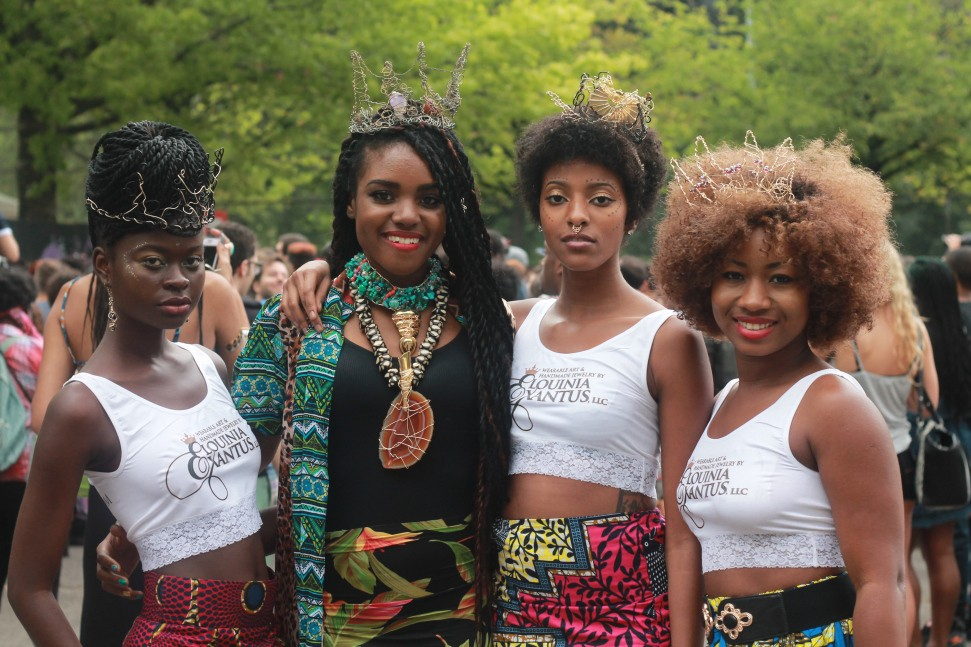 Afropunk Fest 2014. Credit: Vonecia Caswell