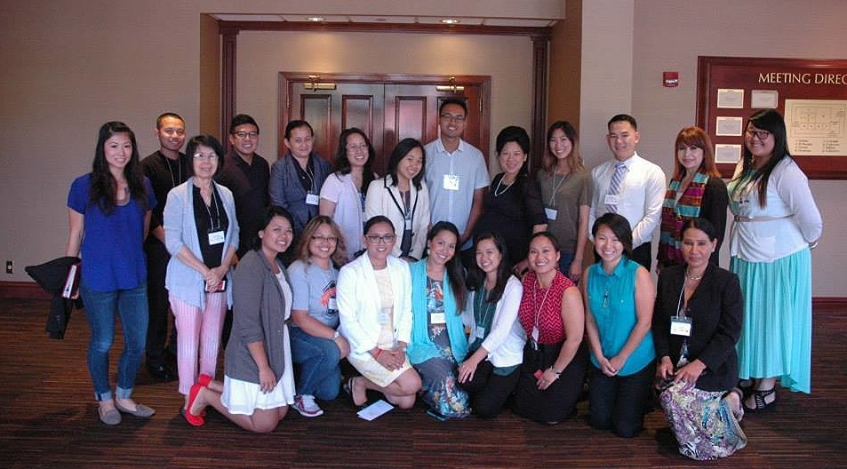 Cambodian Advocacy Training participants, August 23, 2015