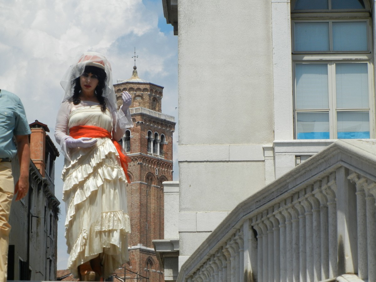 """street apparitions '  foto edition - series from a ""Pirate In Venice"" 2011."