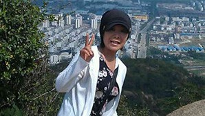 Yamada Kako, a Japanese student studying at Soochow University, is impressed by walking around the city.