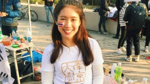 林爱莲, a Nanjing University student from Thailand, counts Nanjing as an important place for her.