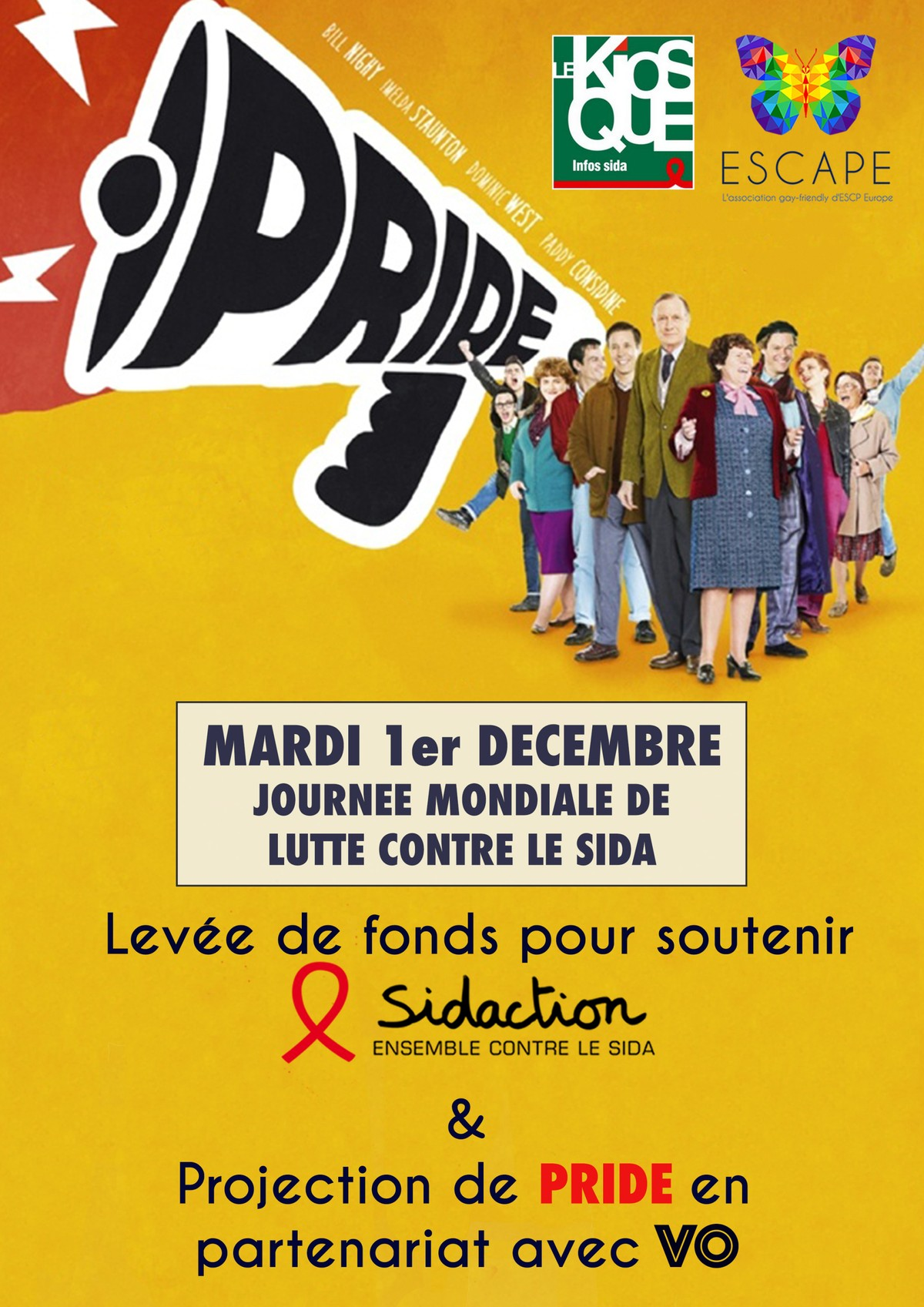 Pride the movie at ESCP Europe for the World AIDS Day
