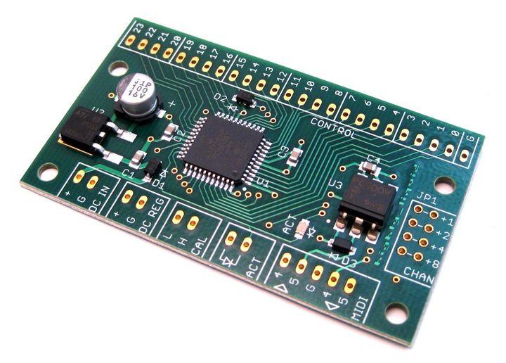 MIDI CPU Instant DIY MIDI Controller