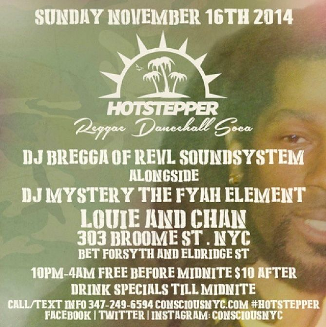 Hotstepper Reggae Sunday