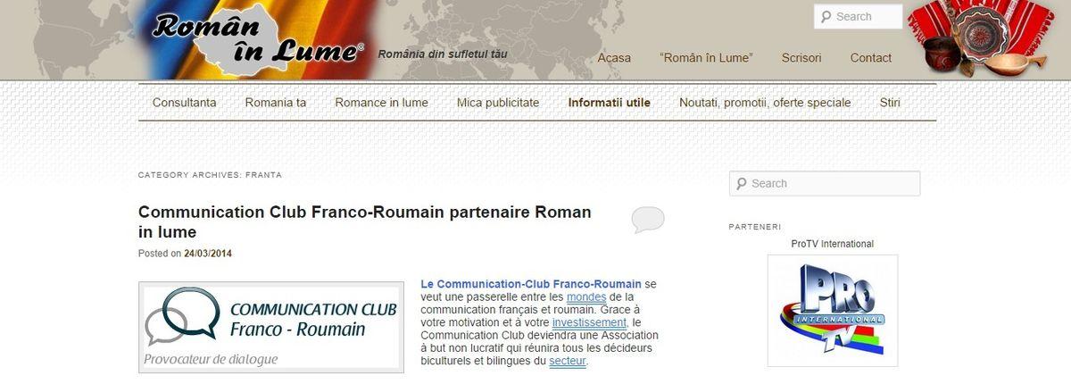 Români in lume