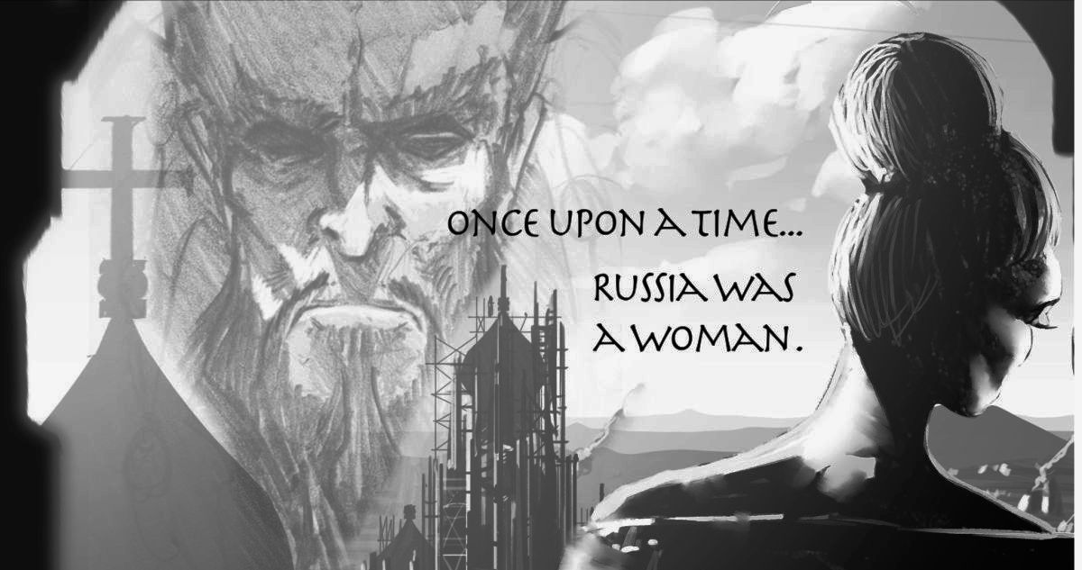 Once upon a time, Russia was a woman.