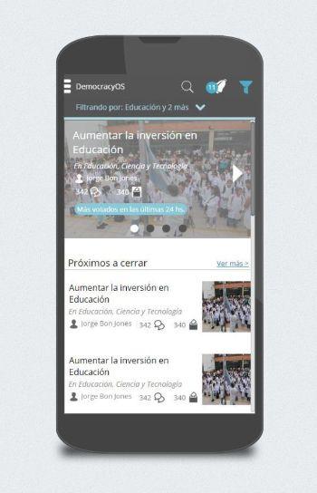 Democracy OS Webapp