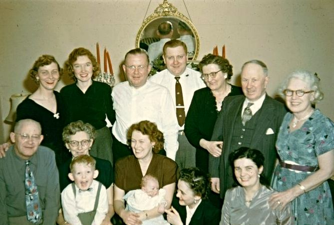 Lee family portrait from a tribute video