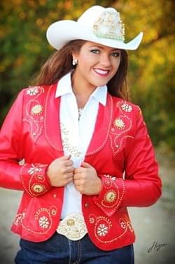 CASSIDY RED LEATHER JACKET