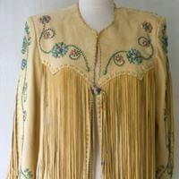 Santa Fe Leather Fringe jacket