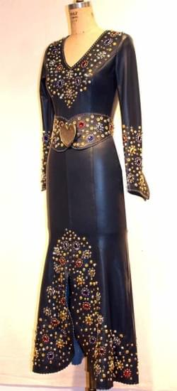 Jenna Navy Jewel dress