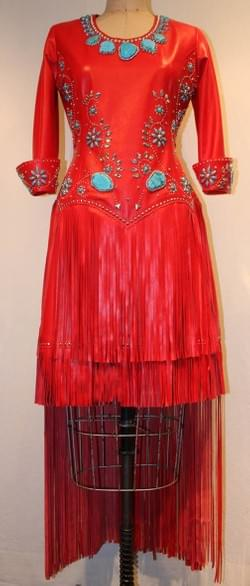 Miss Rodeo Canada Fashion Forward dress