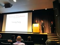 Yimings wins the first prize  at IUSCC